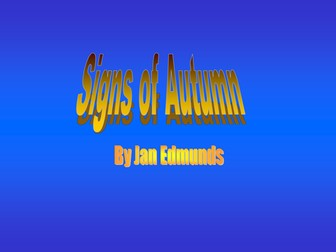 Autumn Assembly