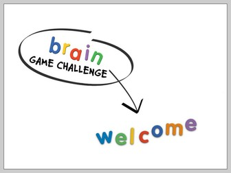 Brain Game Challenge