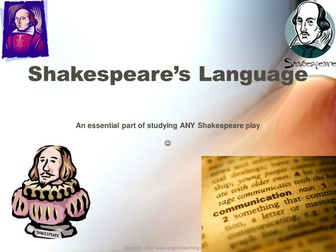 William Shakespeare: Shakespeare's Language
