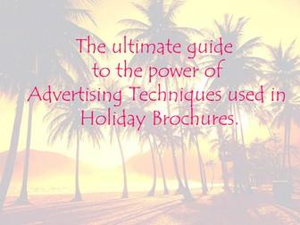 Persuasive Writing: Holiday Brochure