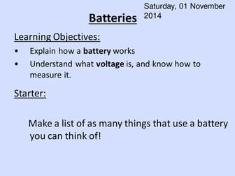Fruit Batteries ppt HT