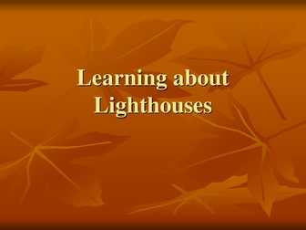 learning about light-houses