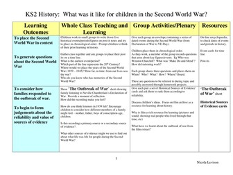 Teachers TV: Children in WW2