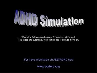 ADHD Simulation