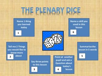 The Plenary Dice