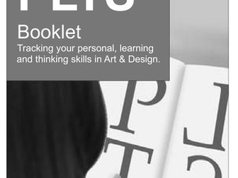 Art & Design PLTS Booklet
