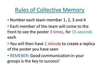 Collective Memory - Simplfying Expressions - game