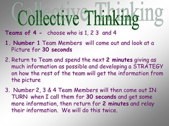 Collective Memory - Transformations - Game