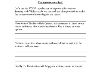 Parents' guide to VCOP