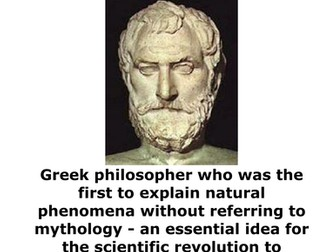 Famous Scientist Timeline