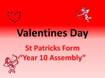 assembly for valentines day/week