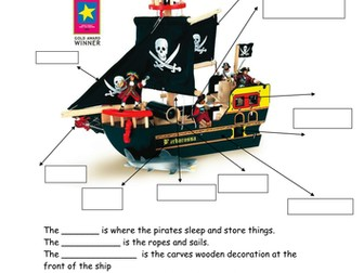 Pirates by ppateacher - Teaching Resources - Tes