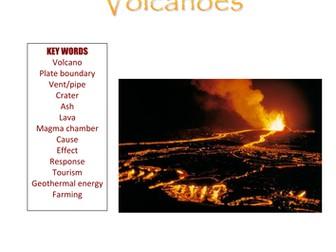 Volcanoes Workbook