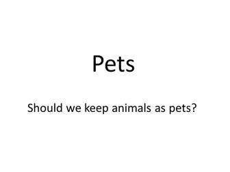 AQA Animals - keeping pets