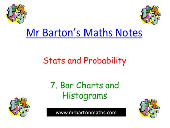 Powerpoint- Stats&Probability-Bar Charts&Histogram