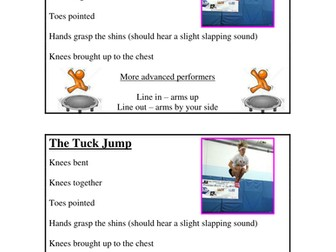 Trampolining resources