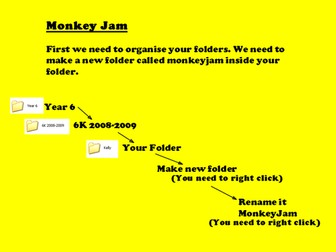 Stop Motion Animation - Monkey Jam How to Guide