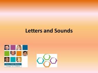 Letters and Sounds parent workshop