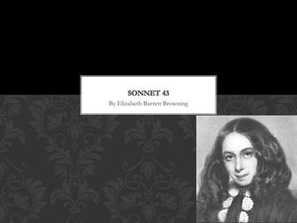 Sonnet 43 by Elizabeth Barrett Browning - Notes
