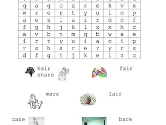 Phonic Wordsearches