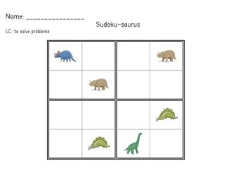Dinosaur maths
