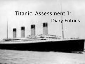 Titanic- diary lesson