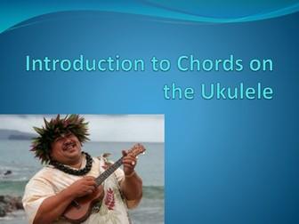 introduction to chords on the ukulele