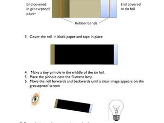 Creating A Pinhole Camera By Hanmphillips