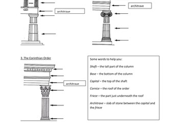Columns in Ancient Greece by samadeus - Teaching Resources - Tes