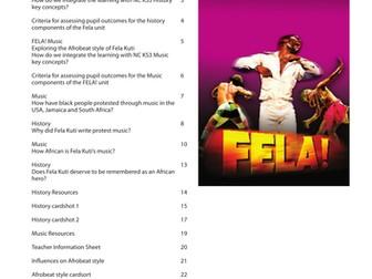 Fela Kuti - Music and History scheme of work