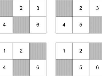 Very simple bingo: nos. 1-6