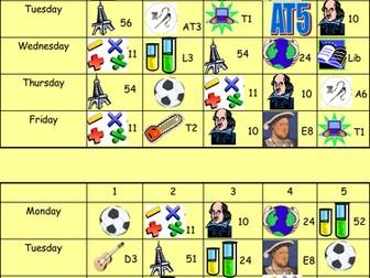 Visual Timetable for Sen Child