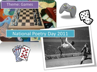 National Poetry Day 2011 Games
