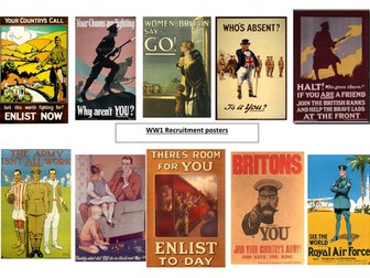 Recruitment WW1