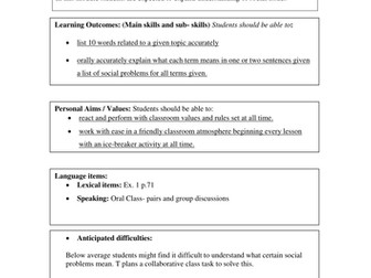 Making complaints lesson by jidenglish teaching resources tes lesson plan template spiritdancerdesigns Choice Image