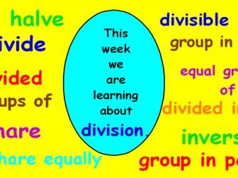 Introducing Division KS1
