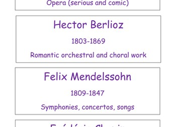Composer names for display