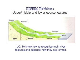 River landforms revision