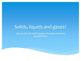 Solids, liquids and gases images