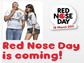 Red Nose Day assembly