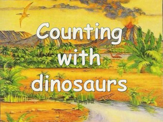 Counting with dinosaurs