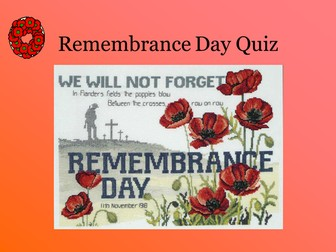 Remembrance Day Quiz