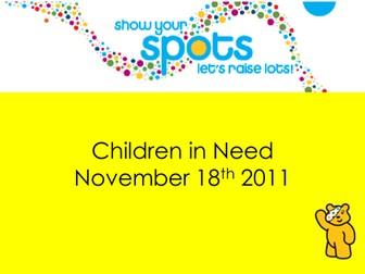 Children in Need Powerpoint