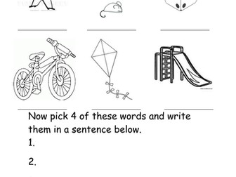 Magic 'e' i-e words worksheet