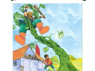 Jack & the beanstalk activity booklet