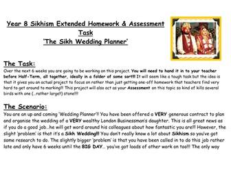 Sikhism Extended Homework
