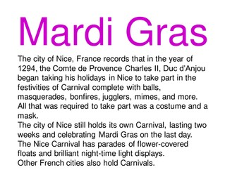 Mardi-gras
