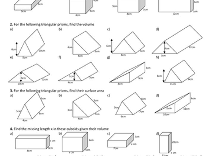 Maths: Cuboids and Triangular Prisms by Tristanjones - Teaching Resources - Tes