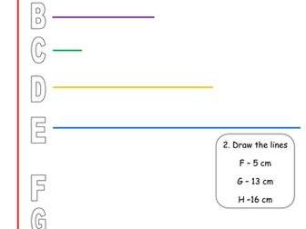 Measuring and Drawing Length