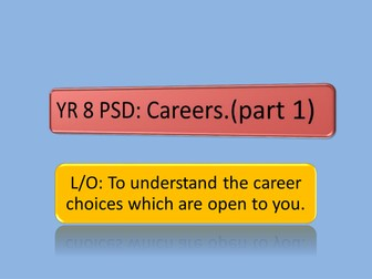 Career Choices - What could I do?